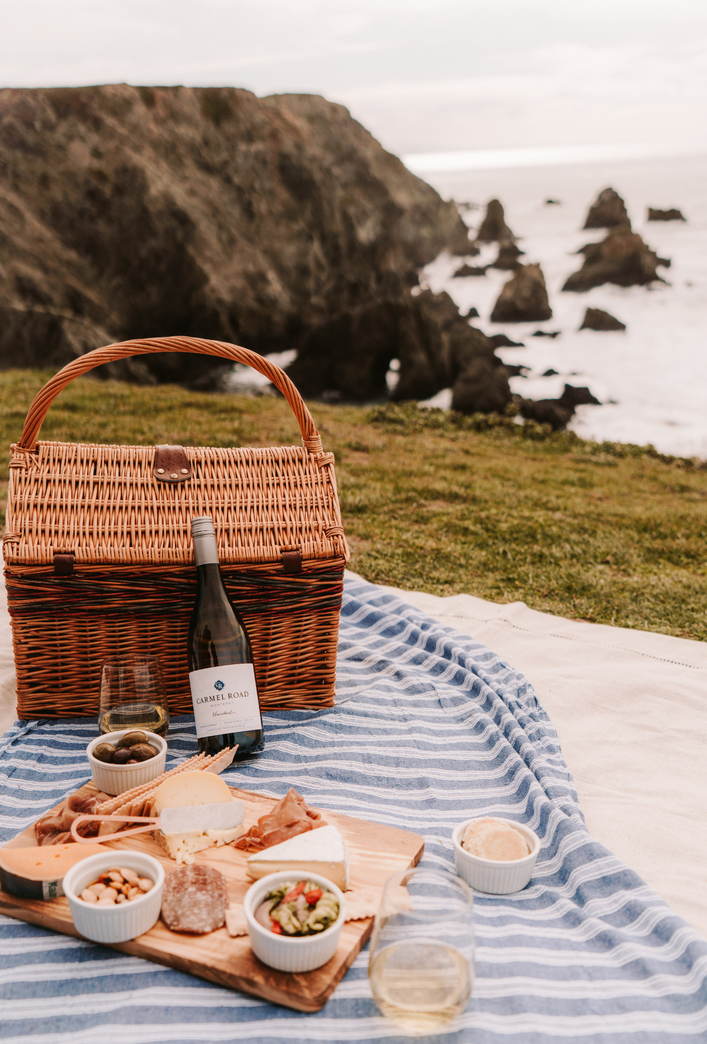 Picnic with Carmel Road Wines
